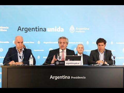Alberto Fernández anunció la extensión de la cuarentena en Argentina hasta el 24 de mayo