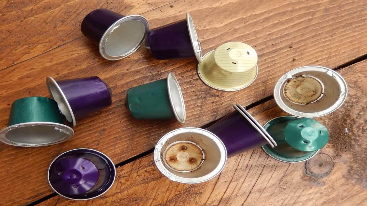 Collane fai da te con capsule del caffe 39 nespresso youtube for Porta capsule fai da te