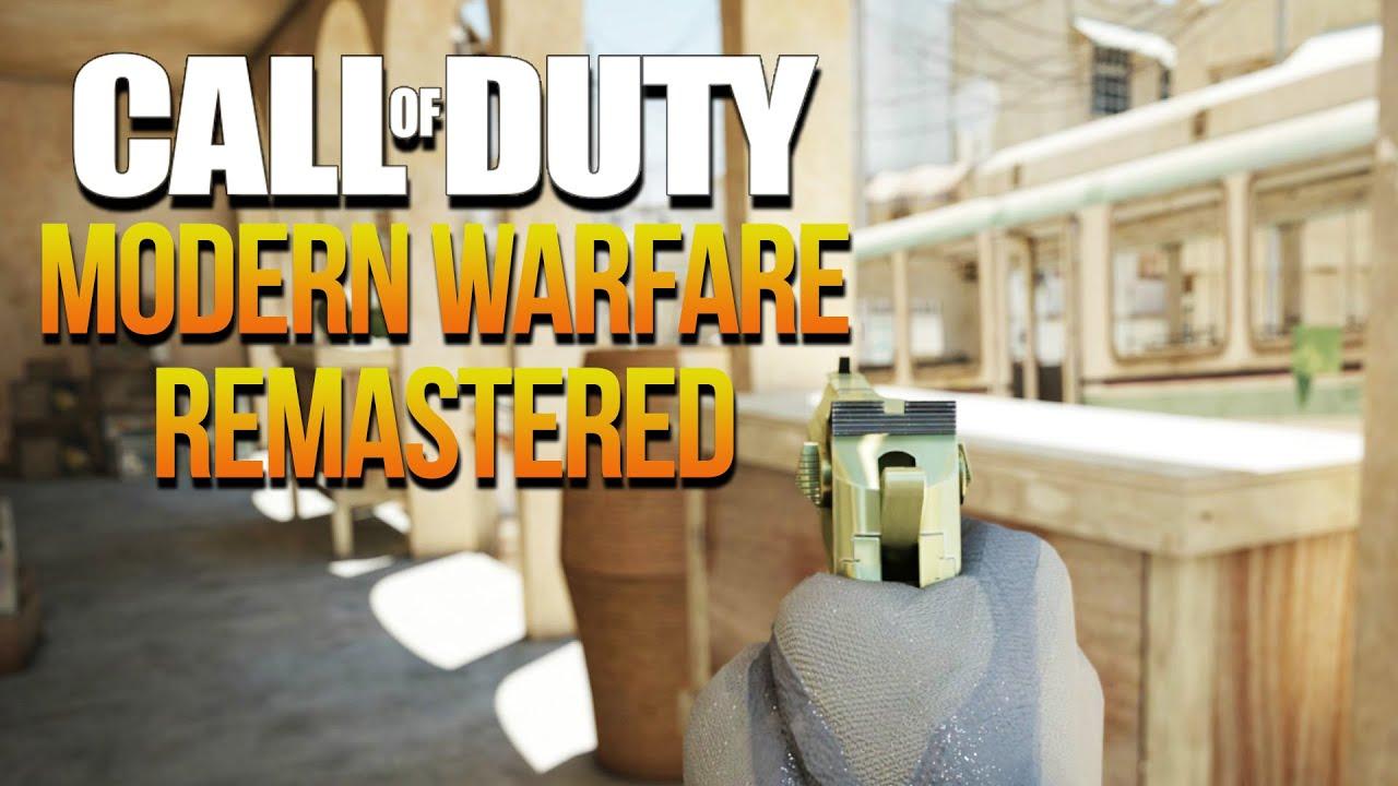 Call of Duty Modern Warfare REMASTERED! COD 4 & MW2 DIGITAL .