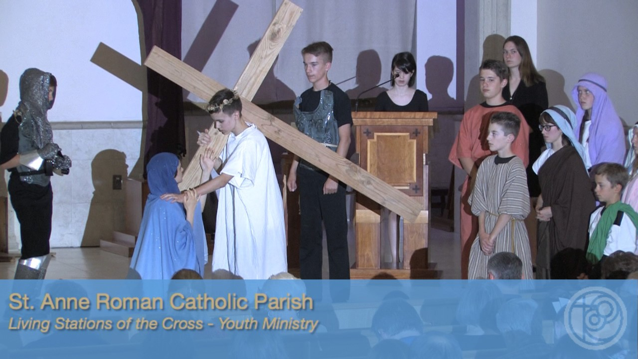 photo regarding Stations of the Cross for Youth Printable identify Youth Ministry - Stations of the Cross 2017