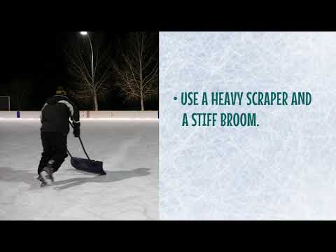 Guide To Creating & Maintaining Outdoor Community Ice Rinks