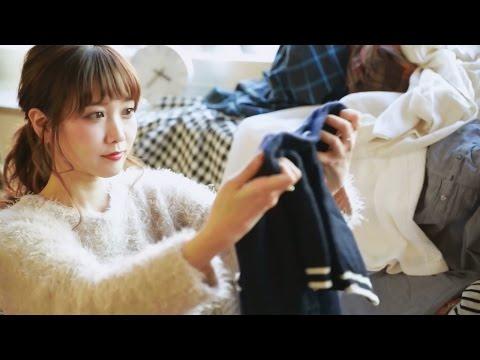 田中里奈、部屋にあふれる私物の洋服披露 フリマアプリ『フリル』新webCM「いってらっしゃい」編&「フリルでお買い物」編