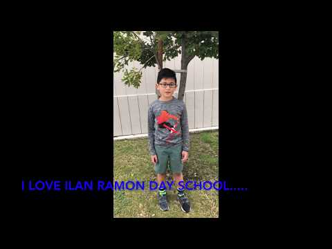 I love Ilan Ramon Day School....