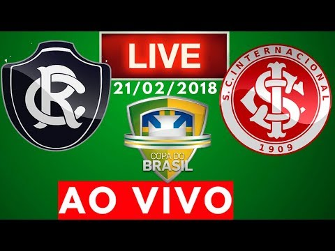 Remo 1 x 2 Internacional   AO VIVO   Copa do Brasil 21/02/2018 NARRAÇÃO