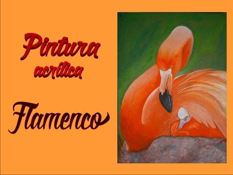 Flamenco | Flamingo | Pintura Acrílica | Acrylic Paint