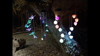 Lampki Solarne Dekoracyjne Kule Serca Koliberki Motylki