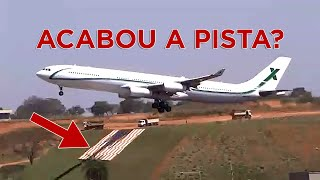 A340 EM VIRACOPOS FOI PERIGOSO? | Aerocast