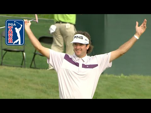 Lucky bounces on No. 18 at Bay Hill