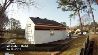 Garage Build Time Lapse