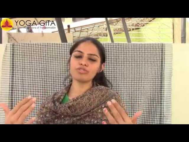 Yoga Gita testimonial by Navya