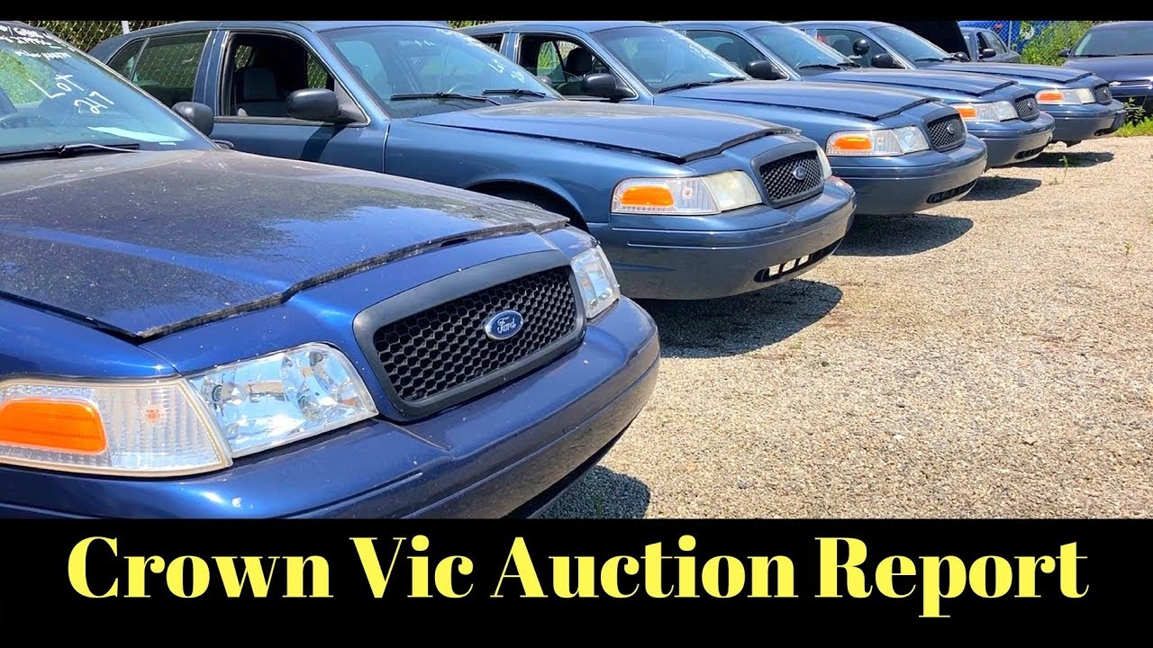 Crown Victoria Police Interceptor Surplus Auction Results Youtube