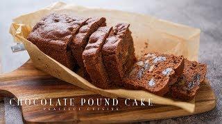 Chocolate Pound Cake | Peaceful Cuisine's Recipe Transcription