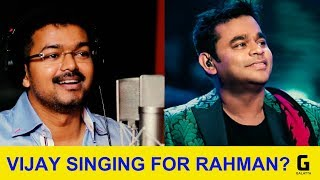 Vijay To Sing First Time For A. R. Rahman?? | Thalapathy 62 | Keerthy Suresh | Vijay 62