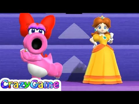 Mario Party 9 Step It Up #2 (Free for All Minigames)