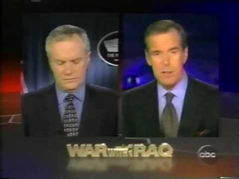 April 3, 2003 - Open to 'World News Tonight with Peter Jennings'
