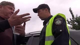 Твердолобые патрульные Харьковской области!
