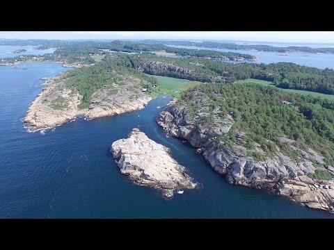Sandefjord Norway Showreel 2016 - DJI PH3 PRO - 4K