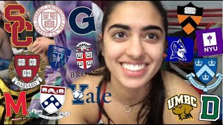 COLLEGE DECISION REACTIONS 2019! (ALL IVIES, USC, GEORGETOWN, DUKE, NYU, HOPKINS &MORE)