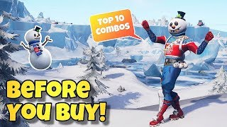 "NEW ""SLUSHY SOLDIER"" SKIN Showcased With 55+ BACK BLINGS, EMOTES & GAMEPLAY! - Fortnite BR"