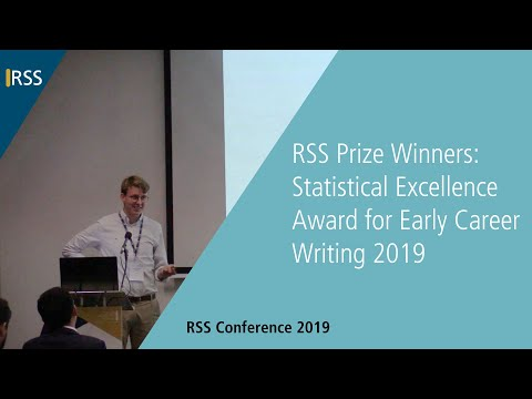 RSS Prize Winners: Statistical Excellence Award for Early Career Writing 2019