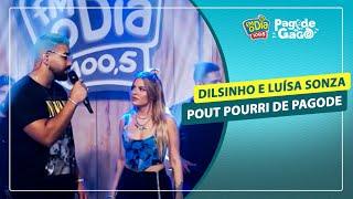 Dilsinho e Luísa Sonza - Pout Pourri de Pagode #Live Pagode do Gago #FMODIA