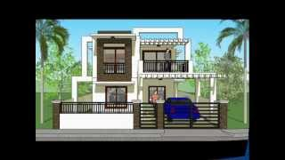 House Plan Designs - Modern 2 Storey House