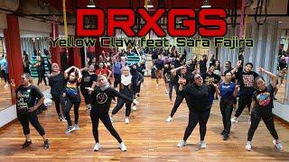 Download lagu DRXGS | YELLOW CLAW FEAT. SARA FAJIRA | ZUMBA | ZIN RIVA | DANCE FITNESS