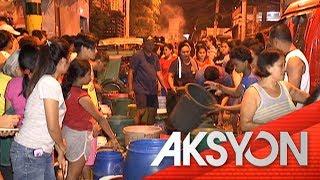 Ilang barangay sa Mandaluyong, wala pa ring tubig