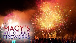 New York City's Fireworks Spectacular 4th of July 2018