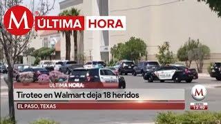 Reportan tiroteo en centro comercial de El Paso, Texas