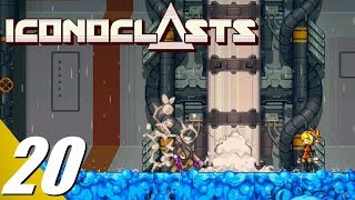 Iconoclasts - Walkthrough Part 20: Final Agent Black Boss Fight (No Commentary)