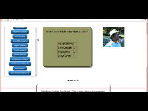 Question Answering System - based on Dbpedia