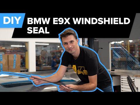BMW E90 Windshield Trim Replacement DIY (BMW 328i, 325i, 330i, 335xi, & More)