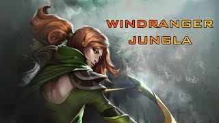 windranger jungle   dota 2