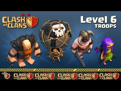 Clash of Clans - How to get MAX level troops in clan castle very fast !