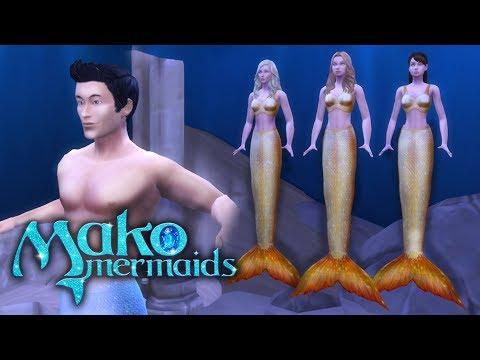 Mako Mermaids Season 1 Episode 1: Outcasts | The Sims 4