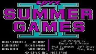 Summer Games 2 gameplay (PC Game, 1986)