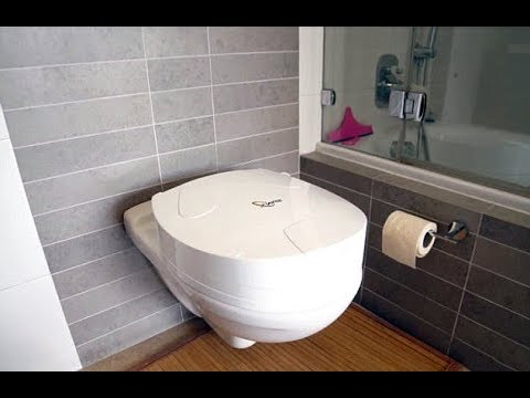 The Self Cleaning TOILET