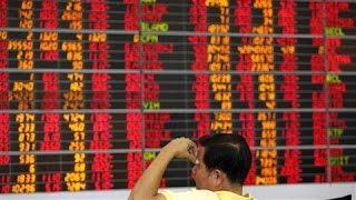 European Markets Fall Sharply on China