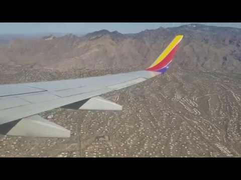Landing at Tucson Intl. Airport
