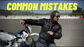 Knee Down & Body Position Mistakes To Avoid ~ MotoJitsu