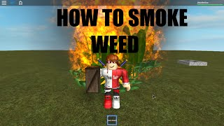 COMMENT À SMOKE WEED [A ROBLOX SHORT]