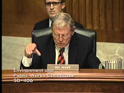 Inhofe Questions Adm. McCarthy on EPA