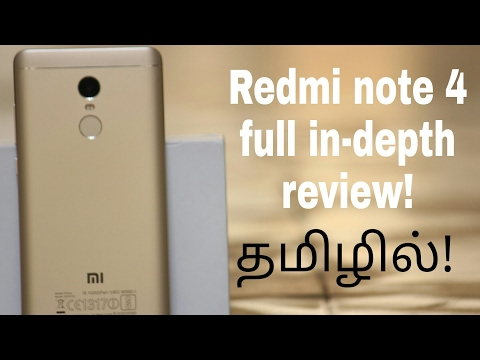 Redmi note 4 full in-depth review(Tamil/தமிழ)| Geekytamizha தமிழா