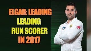 Dean Elgar is the leading run scorer in Tests in 2017 | Sports Tak