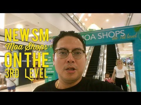 New SM Mall of Asia Shops on the 3rd Level Walking Tour by HourPhilippines.com