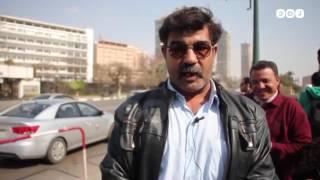 رصد | أنصار مبارك يحتفلون ببراءته أمام مستشفى المعادي العسكري
