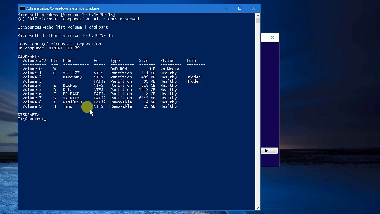 Cách Sửa Lỗi Build Lại BCD Trong Windows 7,8,10 - vera star