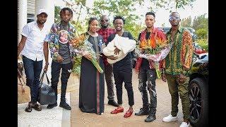 Bahati and Diana mwaura welcome BABY GIRL Heaven Bahati