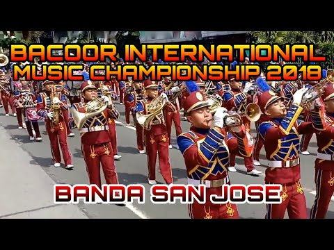 Banda San Jose - Bacoor International Music Competition Street Parade 2018